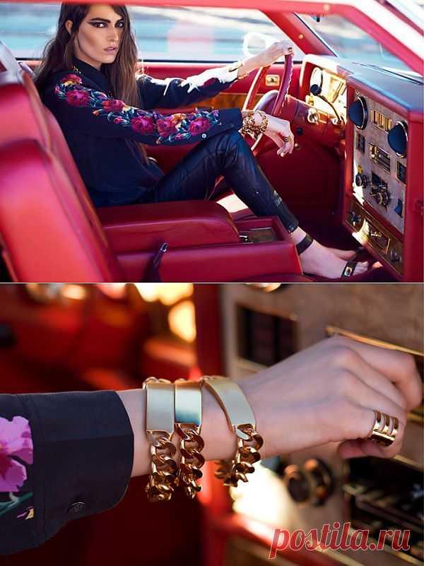 Блузка из тканей-компаньонов / Блузки / Модный сайт о стильной переделке одежды и интерьера