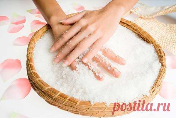 Соль для ногтей: невероятный эффект!   Блог о секретах женской красоты   Яндекс Дзен