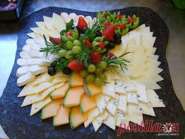Las ideas para adornamiento del plato