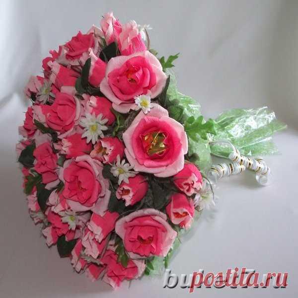Букет конфет для любимого, цветы на заказ с доставкой волгоград недорого