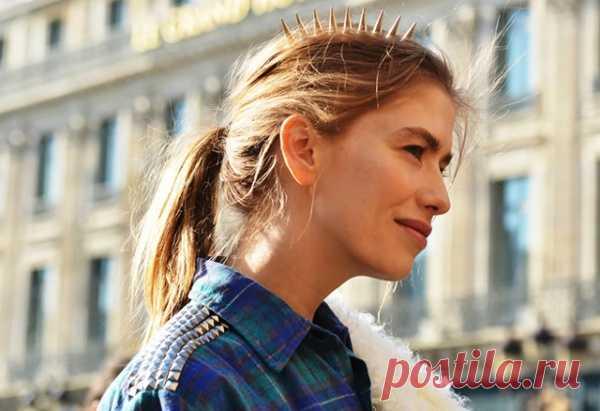 Аксессуар для волос от модницы Елены Перминовой