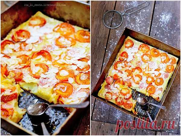 Foodclub — кулинарные рецепты с пошаговыми фотографиями - Клафути с абрикосами.