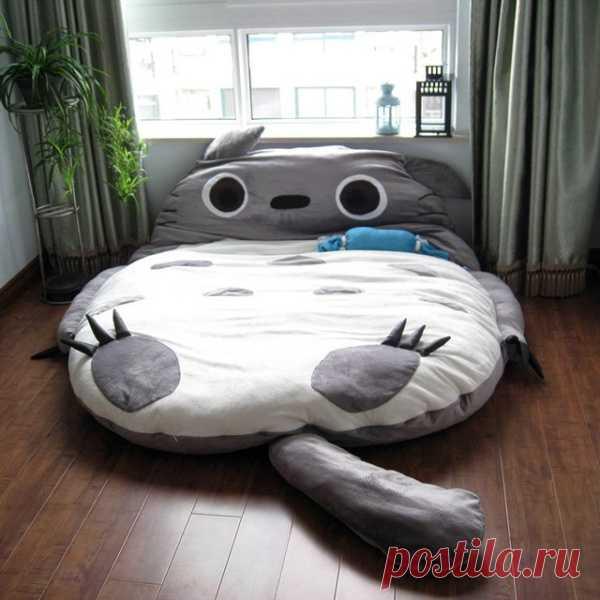 Мой сосед Тоторо - кроватка в виде героя аниме