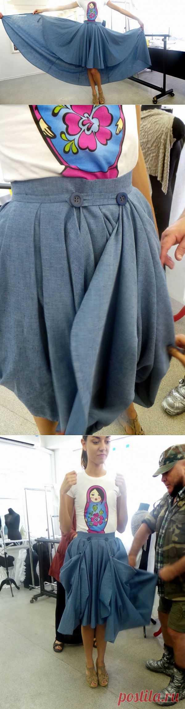 Юбка - трансформер Егора Зайцева / Трансформеры / Модный сайт о стильной переделке одежды и интерьера