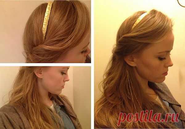 Доработка ободка (DIY) / Украшения для волос / Модный сайт о стильной переделке одежды и интерьера
