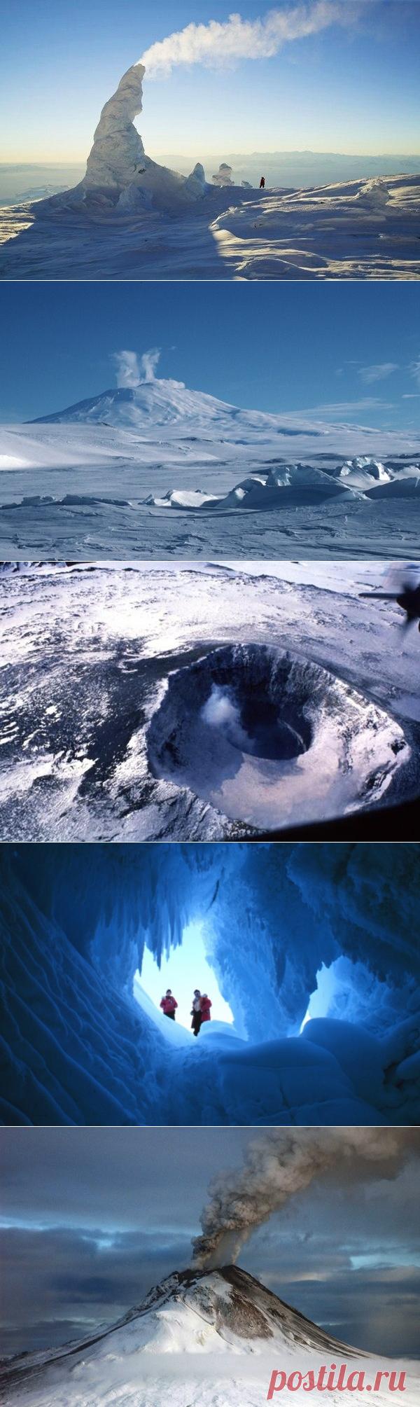 Гора Эребус — Путешествия