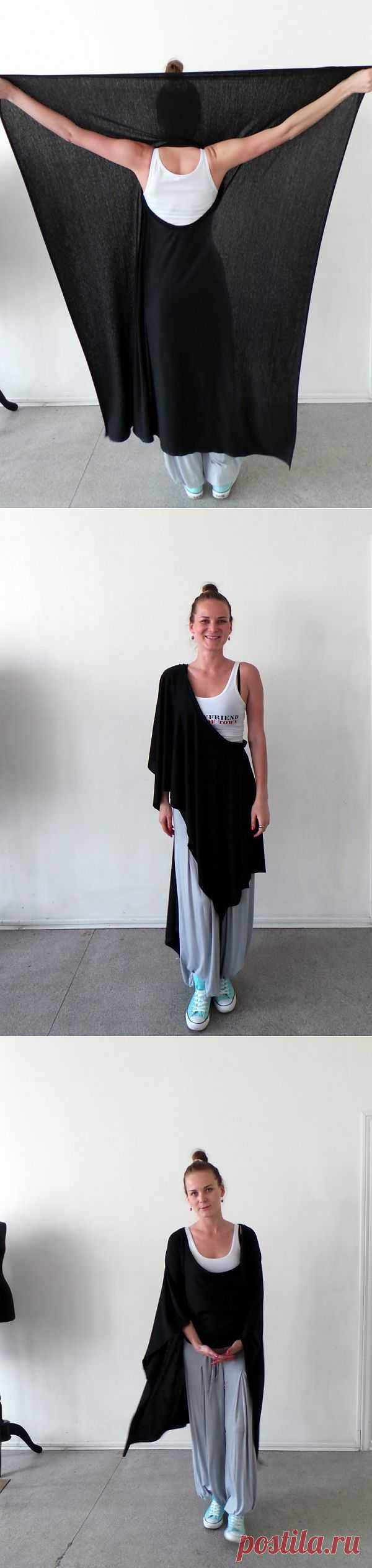 Неожиданный трансформер Ольги Пленкиной (трафик) / Трансформеры / Модный сайт о стильной переделке одежды и интерьера
