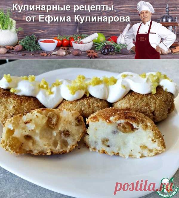 Сладкие котлеты из манки с изюмом | Вкусные кулинарные рецепты