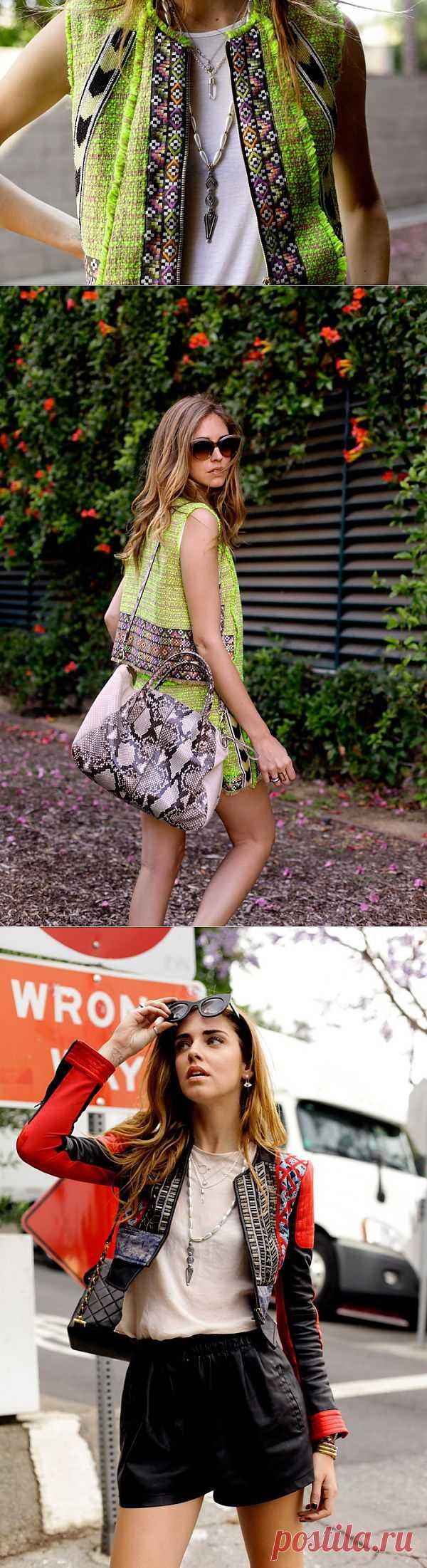 Два интересных лука Чиары / Блоггеры / Модный сайт о стильной переделке одежды и интерьера