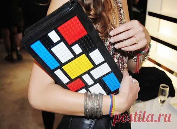 Lego-клатч / Сумки, клатчи, чемоданы / Модный сайт о стильной переделке одежды и интерьера