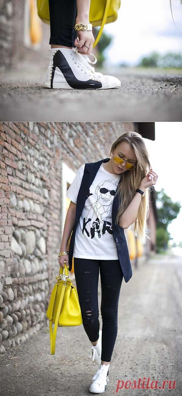 Каблук на плоской подошве / Обувь / Модный сайт о стильной переделке одежды и интерьера