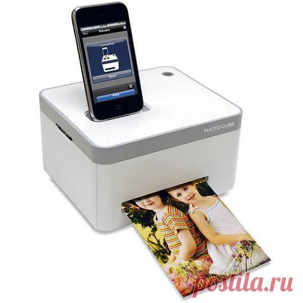 Первое устройство, позволяющее распечатывать фото с iphone или ipod. $195 USD