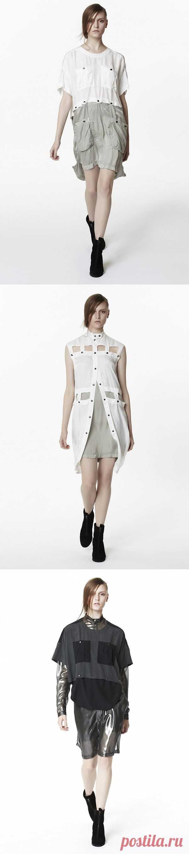 Из коллекции Jeremy Laing Spring/Summer'13 / Детали / Модный сайт о стильной переделке одежды и интерьера