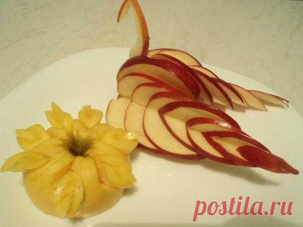 rigging: фруктовое украшение блюд