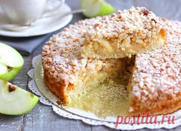 Яблочный пирог — Кулинарная страничка