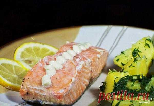 Красная рыба, запеченная в фольге - пошаговый кулинарный рецепт на Повар.ру