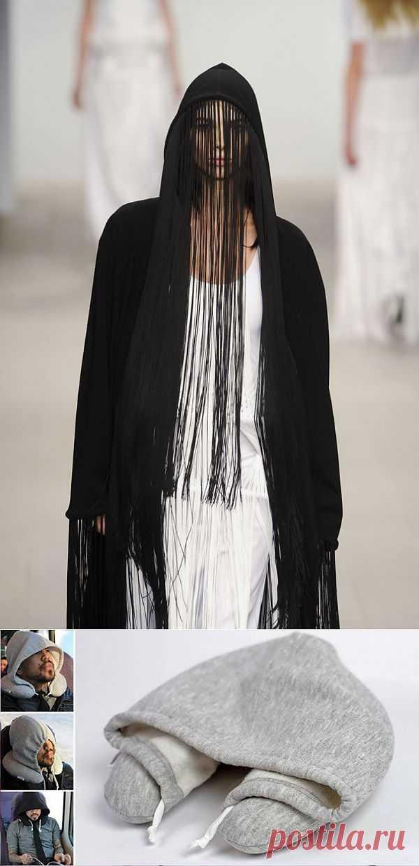 Два необычных капюшона / Худи / Модный сайт о стильной переделке одежды и интерьера