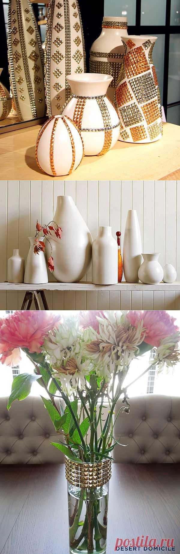 Шипастые цветочные вазы (подборка) / Цветы / Модный сайт о стильной переделке одежды и интерьера