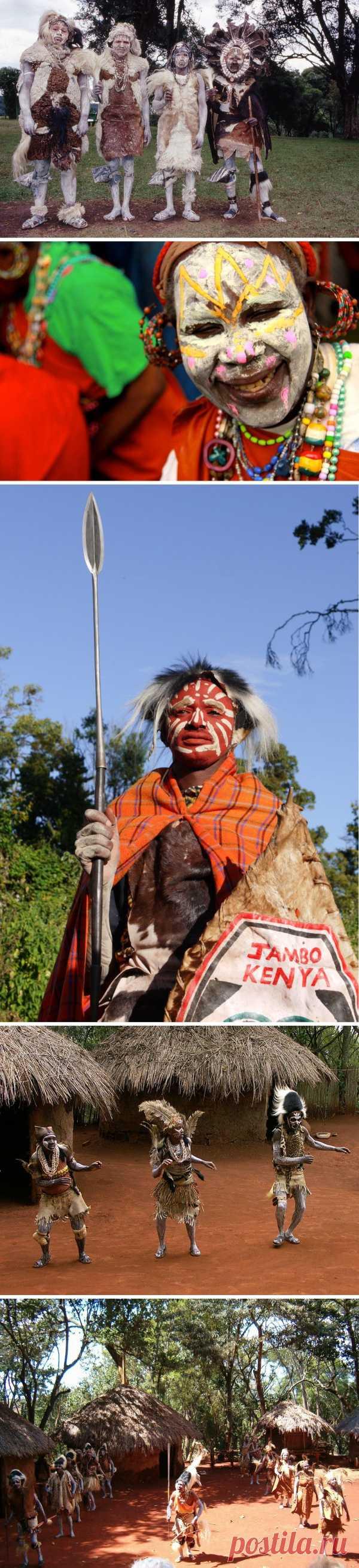 África moderna. La tribu de Kikuyyu, la Kenia