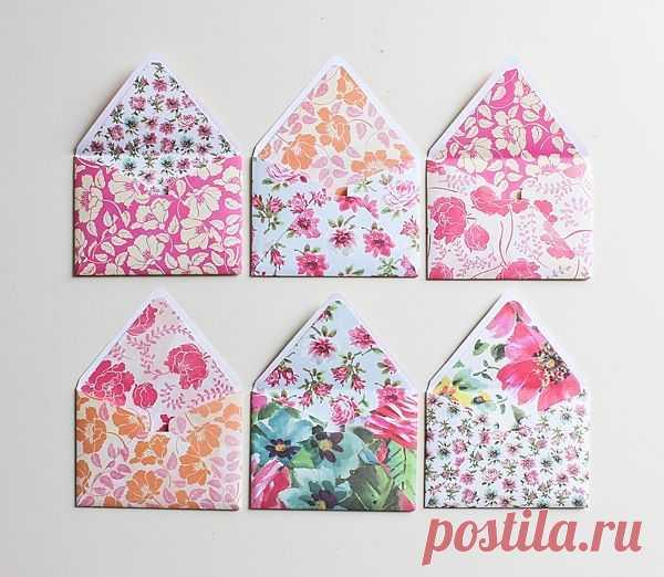 Двойной конвертик / Бумага и карандаши (скрапбукинг, оригами, и т.д.) / ВТОРАЯ УЛИЦА
