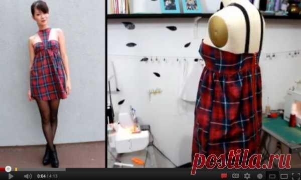 Платье из мужской рубашки (DIY) / Рубашки / Модный сайт о стильной переделке одежды и интерьера