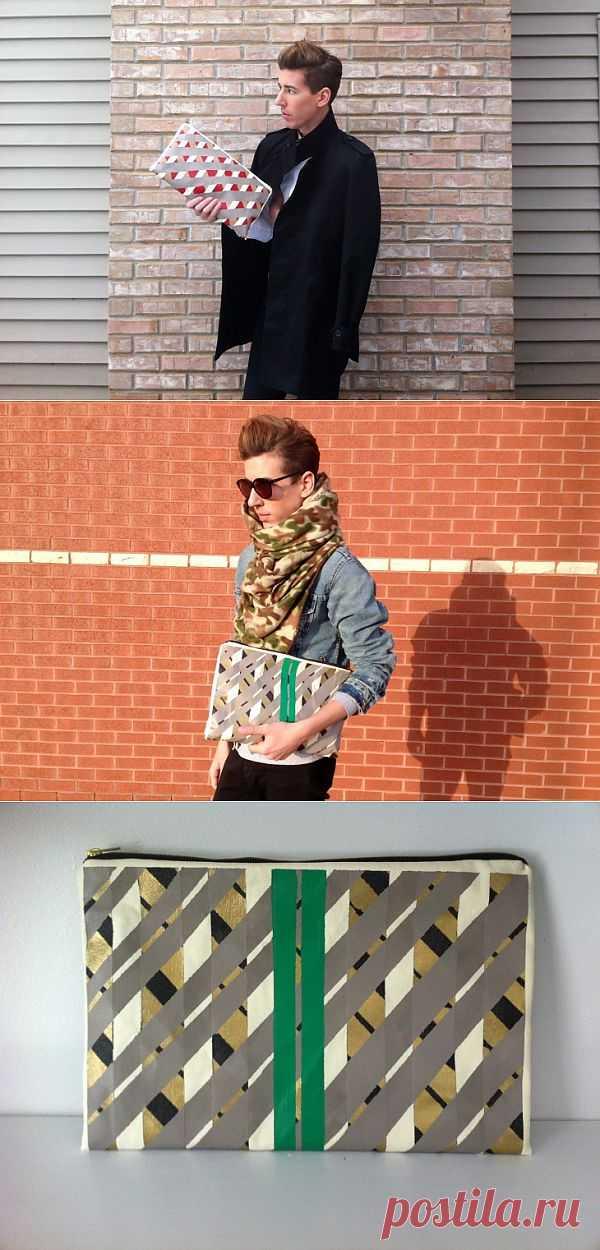 Геометрические клатчи (DIY) / Сумки, клатчи, чемоданы / Модный сайт о стильной переделке одежды и интерьера