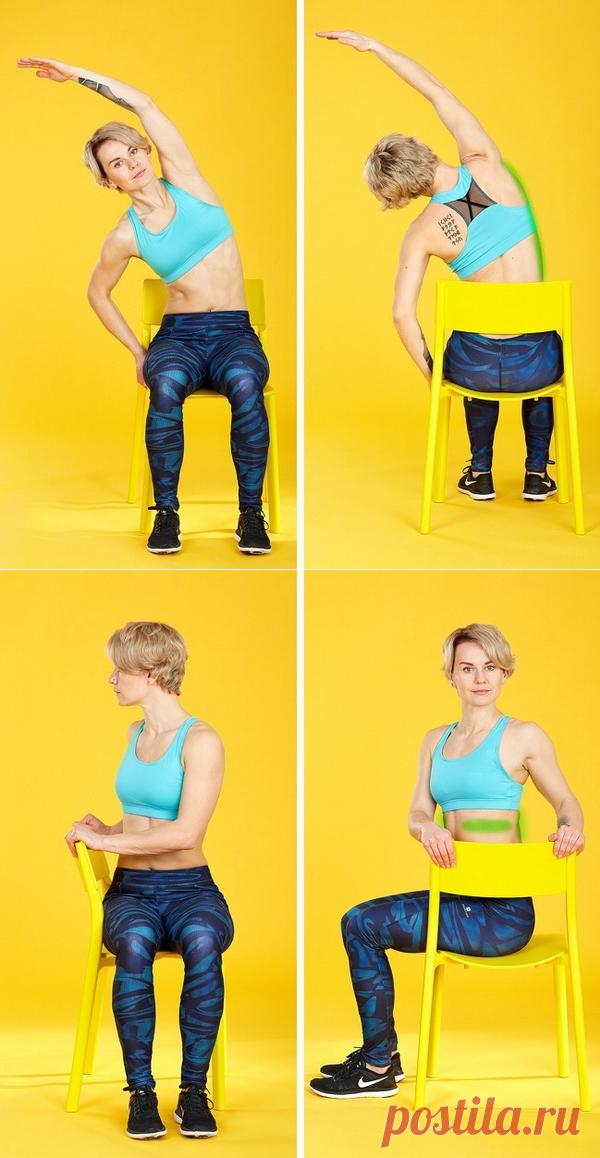 ДЕРЖИМ ФОРМУ. Упражнения для спины, почти заменяющие массаж