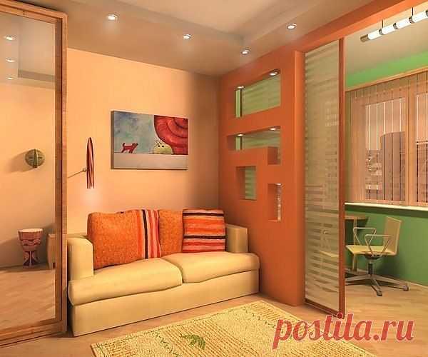 18 идей дизайна для маленьких квартир   Интерьер и Дизайн