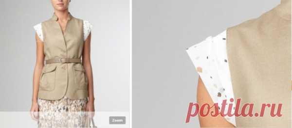 Переделка жакета или плаща / Жакеты / Модный сайт о стильной переделке одежды и интерьера