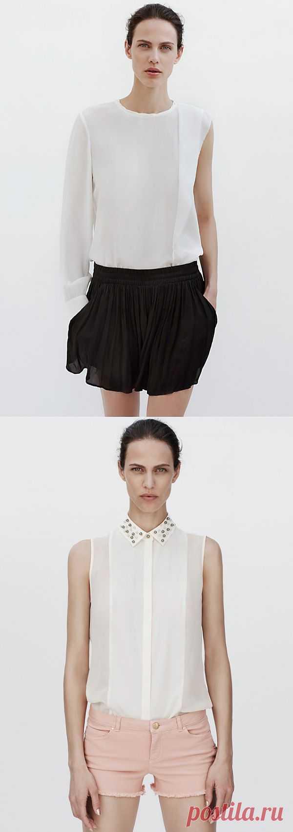 Две блузки ZARA / Блузки / Модный сайт о стильной переделке одежды и интерьера