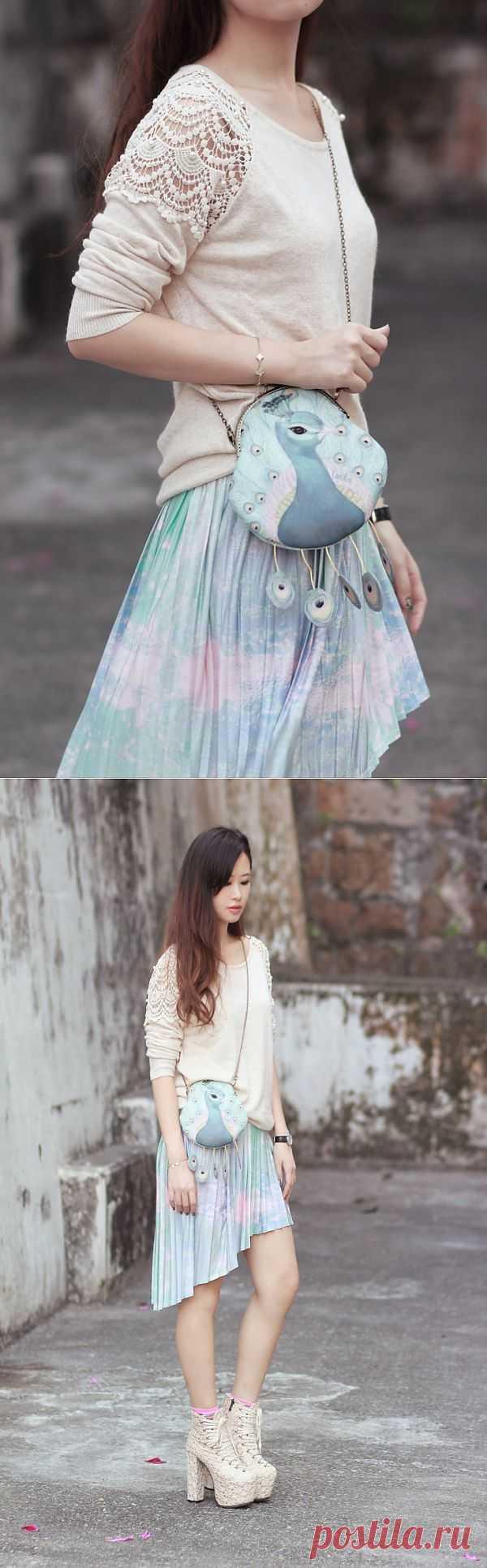 Вкусный образ от Mayo Wo / Сумки, клатчи, чемоданы / Модный сайт о стильной переделке одежды и интерьера