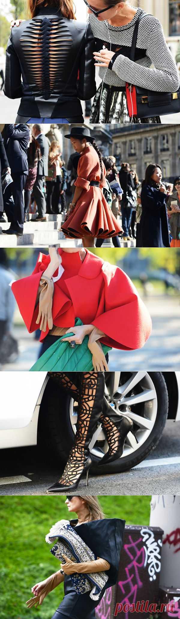 Идеи с улиц 2 (трафик) / Street Style / Модный сайт о стильной переделке одежды и интерьера