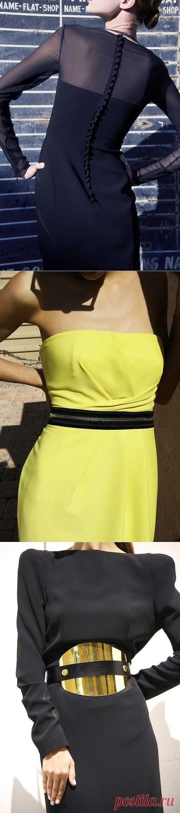 Платья. Детали (подборка) / Платья Diy / Модный сайт о стильной переделке одежды и интерьера