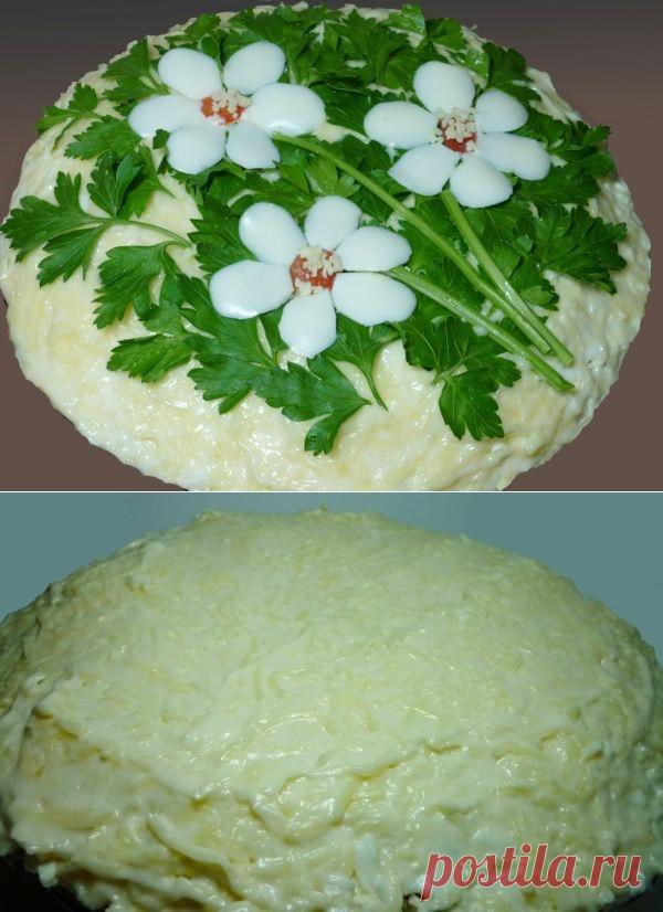салат три цветка рецепт и фото нас можно