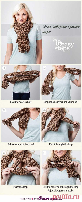 ¿Cómo hermosamente y atar simplemente la bufanda?