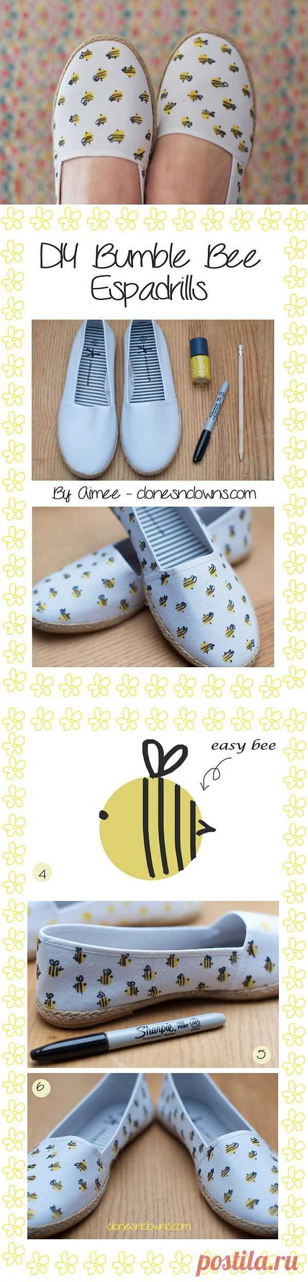 Бжжж-бжжж-бжжжж-бжжжж-бжж-бжж! (Diy) / Обувь / Модный сайт о стильной переделке одежды и интерьера