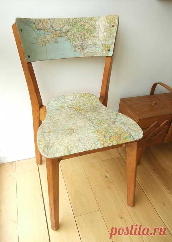 Обновление стула / Мебель / Модный сайт о стильной переделке одежды и интерьера