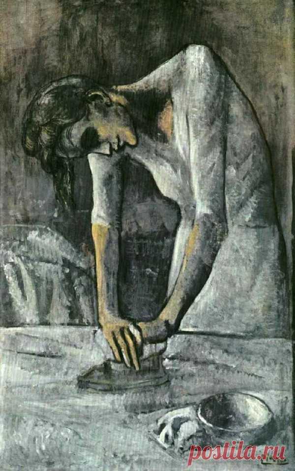 """Что скрывает полотно """"Гладильщицы"""" Пабло Пикассо?"""