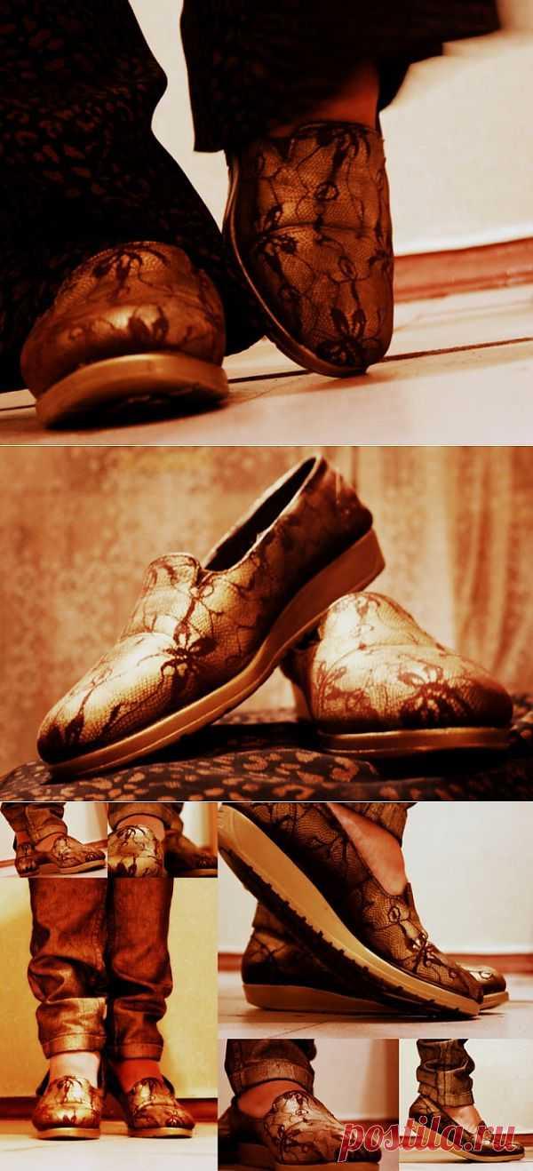 ...тому и тапки - 2 (DIY) / Обувь / Модный сайт о стильной переделке одежды и интерьера