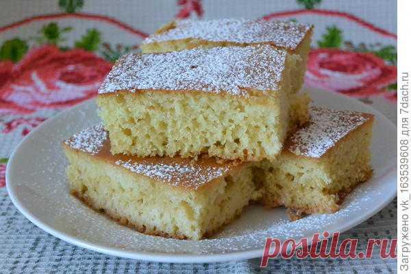 Лимонный манник - пошаговый рецепт приготовления с фото