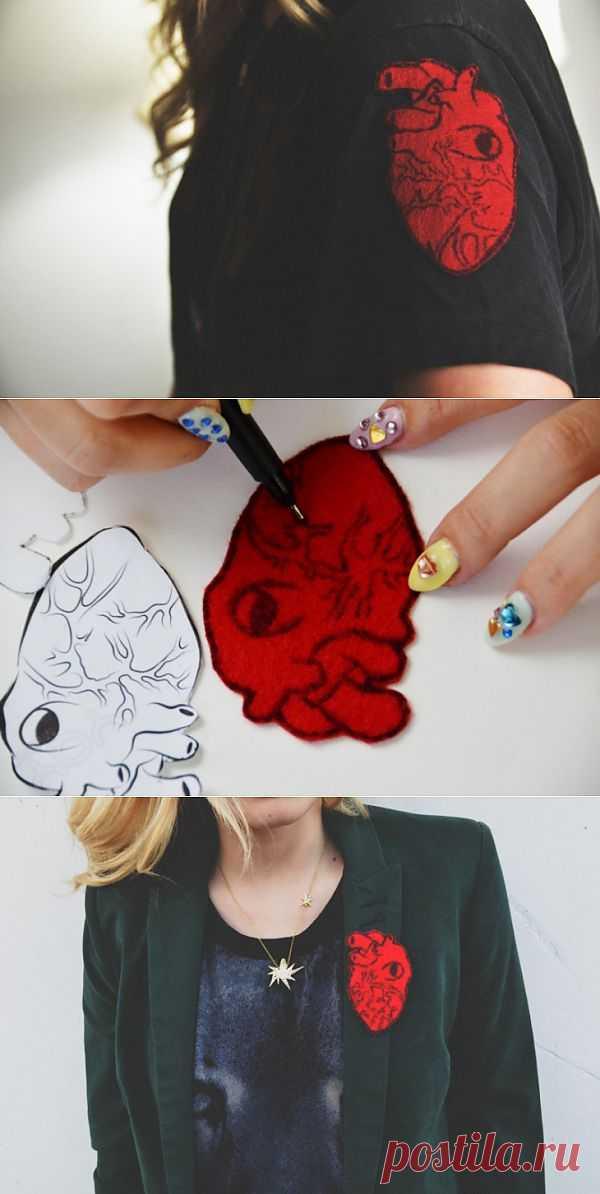 Сердце там где надо (DIY) / Украшения и бижутерия / Модный сайт о стильной переделке одежды и интерьера