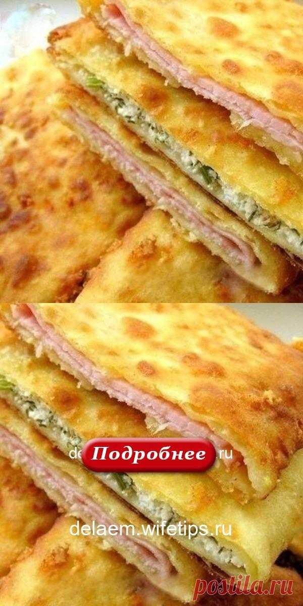 Сырные лепешки на кефире: 15 минут — и вкуснейшее блюдо готово! - delaem