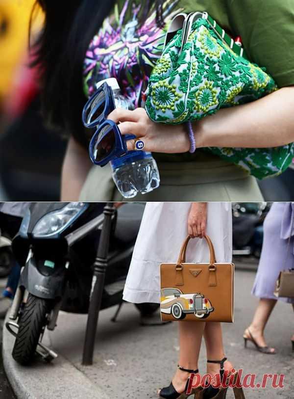 Две интересные сумочки / Сумки, клатчи, чемоданы / Модный сайт о стильной переделке одежды и интерьера