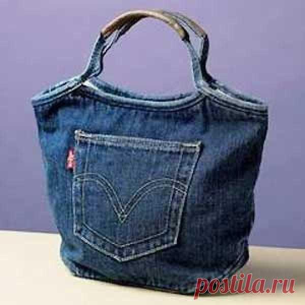 443b94f085b3 Выкройка сумки из джинсов – просто сшить (Шитье и крой) | Журнал  Вдохновение Рукодельницы