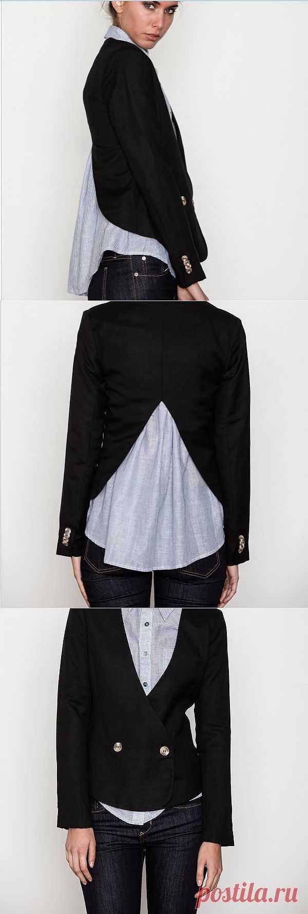 Комплект - двойка / Жакеты / Модный сайт о стильной переделке одежды и интерьера