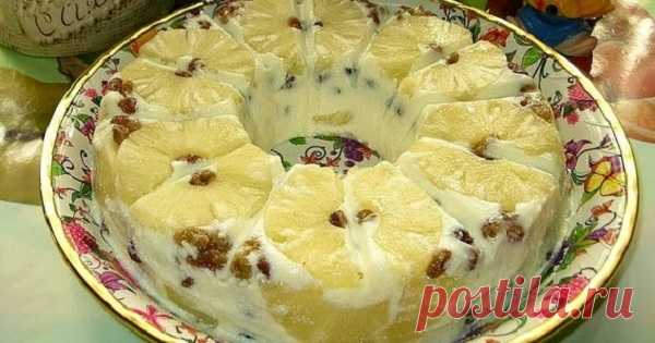 Air cottage cheese dessert \