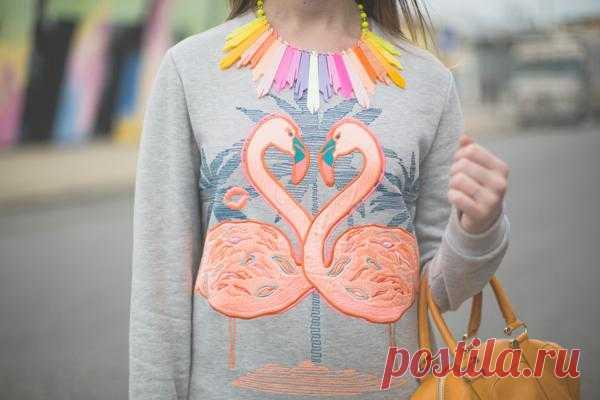 Аппликация свитшота / Аппликации / Модный сайт о стильной переделке одежды и интерьера