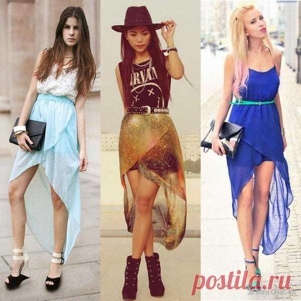 С какой моделью юбки какую обувь модно одевать ?