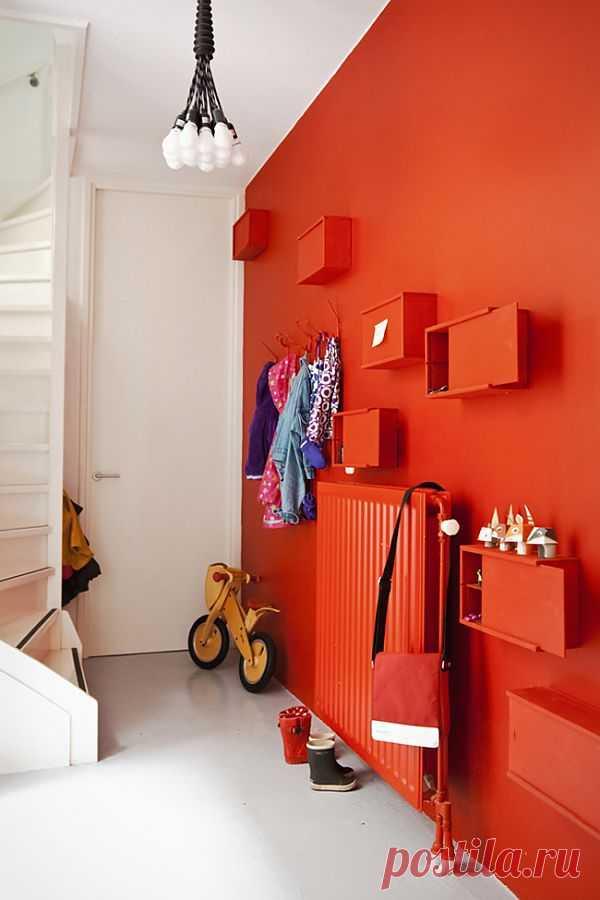 Коробки на стене / Мебель / Модный сайт о стильной переделке одежды и интерьера