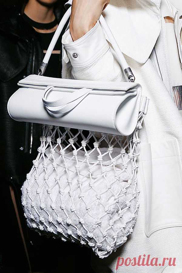 Сумка с авоськой Alexander Wang / Креатив в моде / Модный сайт о стильной переделке одежды и интерьера